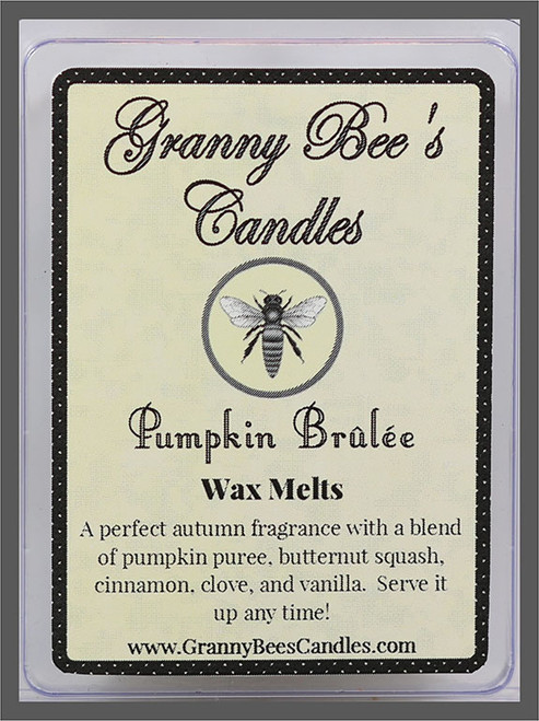 Pumpkin Brulee Wax Melts