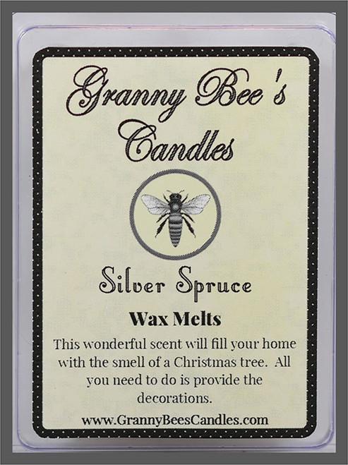 Silver Spruce wax melts
