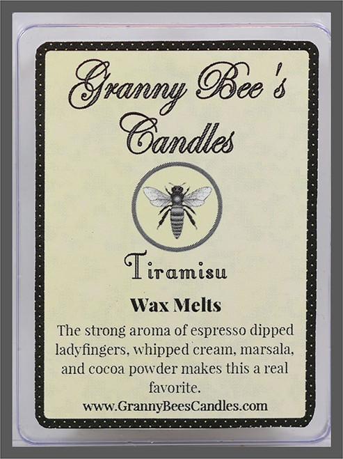 Tiramisu wax melts