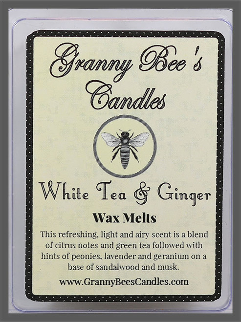 White Tea & Ginger Wax Melts