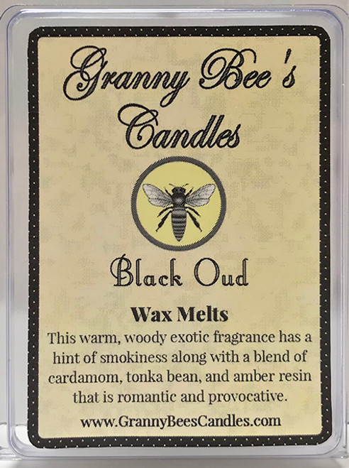 Black Oud Wax Melts