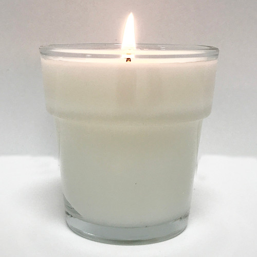Flower Pot Votive Candles Set of 12