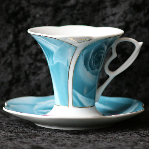 Blue Teacup 5 oz.