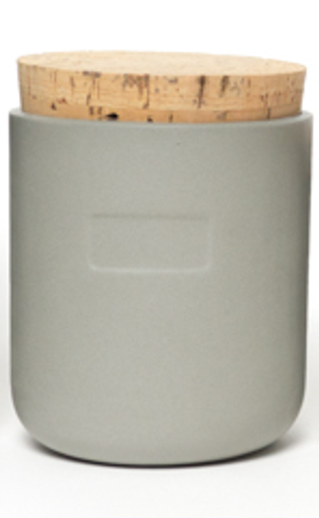 Gray Canister, Medium 16 oz.