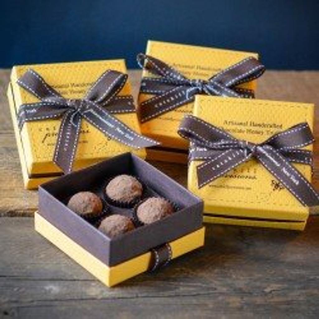 Chocolate Honey Truffles