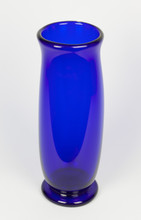 Cobalt Vase Art Glass