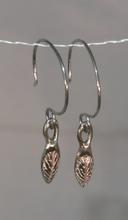 Earrings MW Silver Leaf