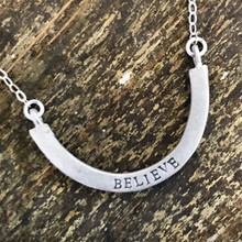 Believe: Half-Full Necklace