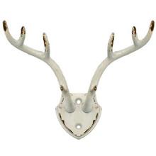 Deer Antler Wall Hooks (Metal)