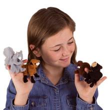 Woodland Animal Finger Puppet Set