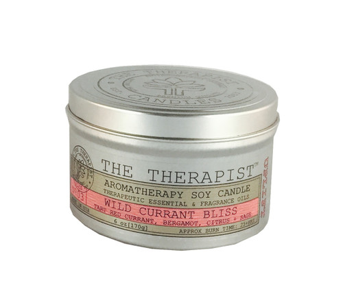 No. 03 Wild Currant Bliss Soy Candle - Travel Tin 6 oz