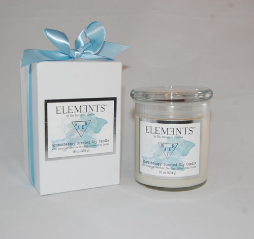 ELEMENTS CANDLE - WATER