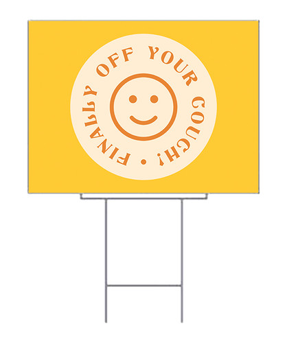 COVID ReOpening Yard Sign