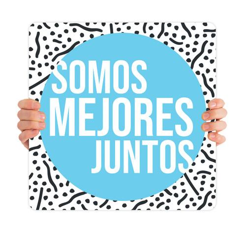 ReOpen Handheld - Style 1 Spanish - Somos Mejores Juntos