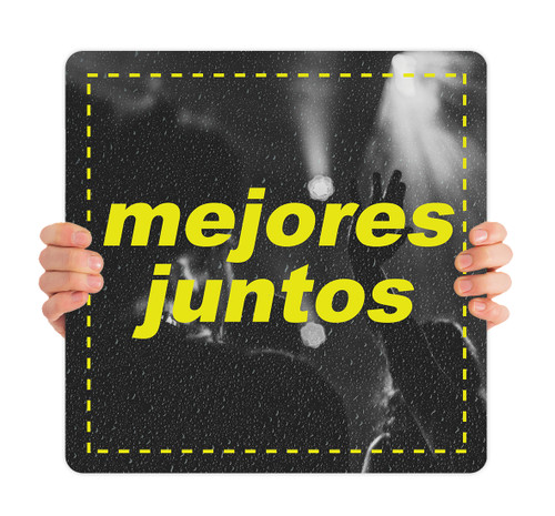 COVID ReOpen Handheld - Style 2 Spanish - Mejores Juntos