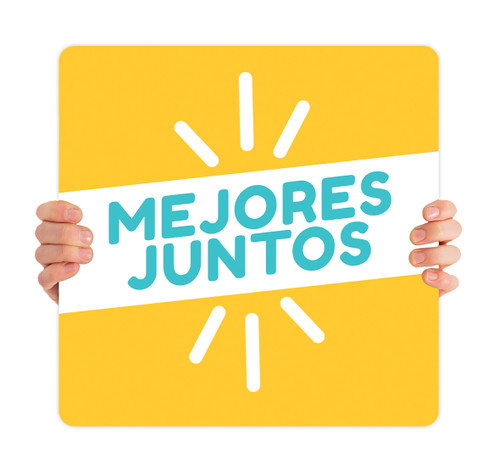 ReOpen Handheld - Style 10 Spanish - Mejores Juntos
