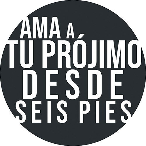 COVID ReOpen Floor Vinyl - Style 1 Spanish - Seis Pies