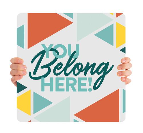 ReOpen Handheld - Triangles - You Belong Here