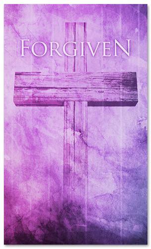 3x5 Forgiven Church Banner