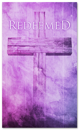 3x5 Redeemed Church Banner