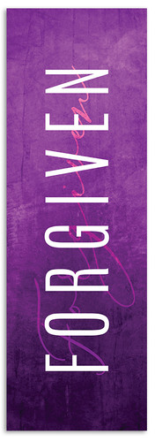 Forgiven Lent Banner