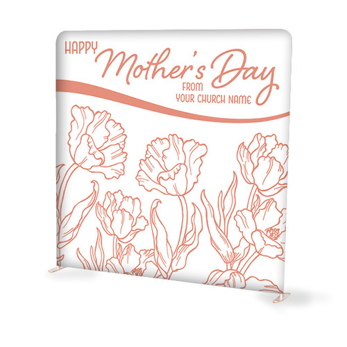 Mother's Day Tension Backdrop Display
