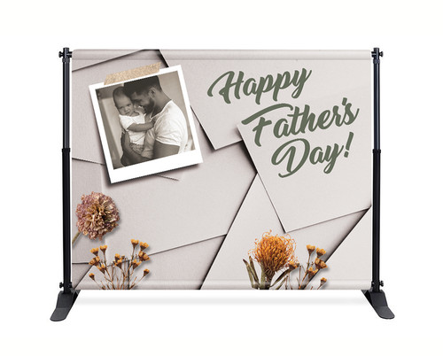 Backdrop - F004 Happy Father's Day