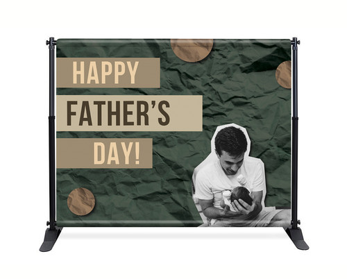 Backdrop - F006 Happy Father's Day