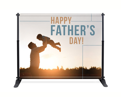 Backdrop - F007 Happy Father's Day