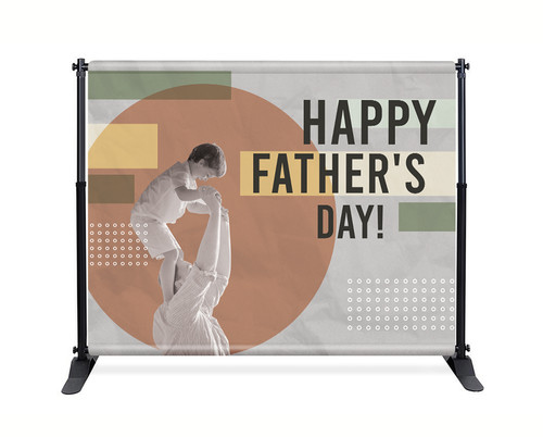 Backdrop - F008 Happy Father's Day