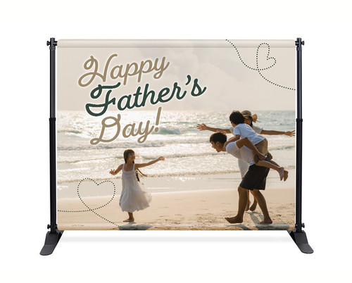 Happy Father's Day - Backdrop - F011
