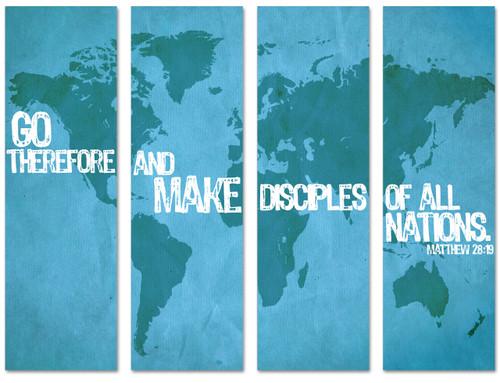 BC111 Make Disciples Blue