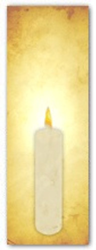 Advent banner in fabric adv015