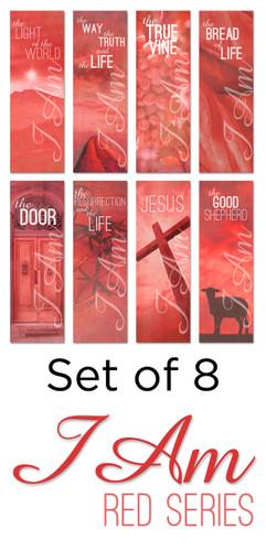 I Am 20 Red Banner Set