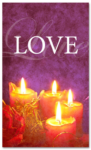 Advent banner in fabric adv022