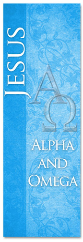 Blue Alpha and Omega - ND085