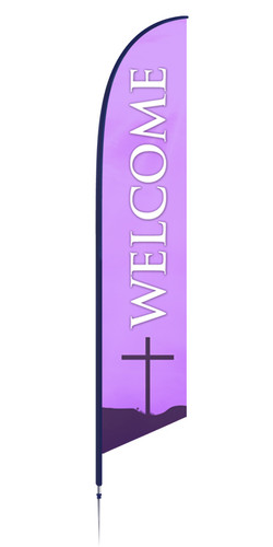 Feather - Outdoor Banner F-25