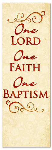 B007 One Baptism Red 1