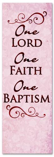B009 One Baptism Purple 1
