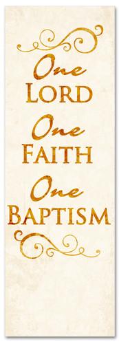 B011 One Baptism Gold 1
