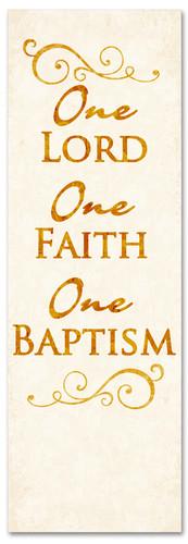 B012 One Baptism Gold 2