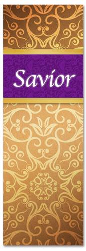 New banner design Gold Victorian - Savior