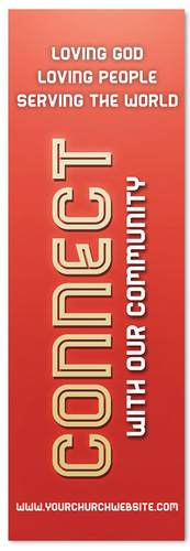 Christian Church Connection banner - Red