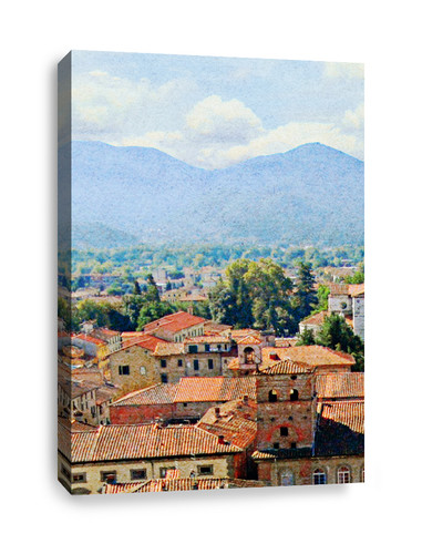 Canvas Print of City Landscape (part 2)