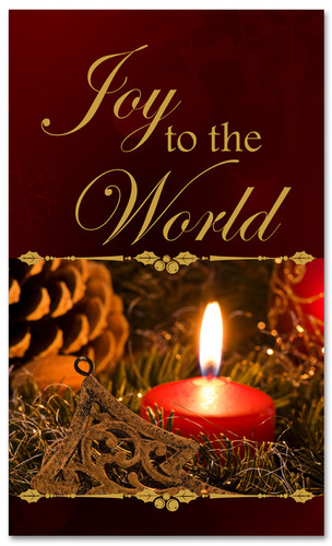 Joy to the world- Christmas holiday banner