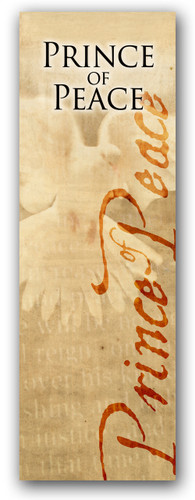 3x8 Prince of Peace - Christian banner