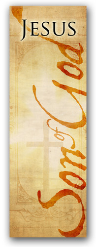 3x8 Jesus Son of God Christian church banner
