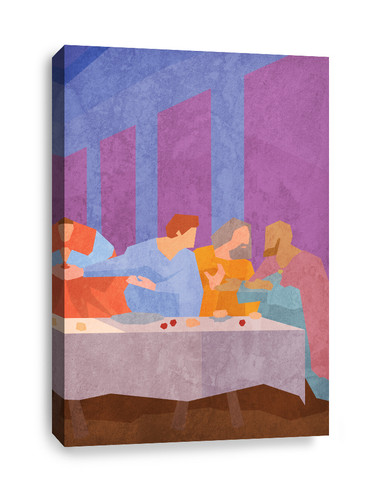 The Lord's Supper pt. 3 - Canvas Print