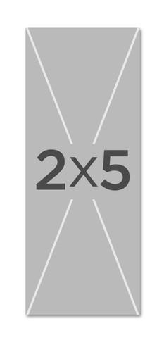 custom 2x5 church banner