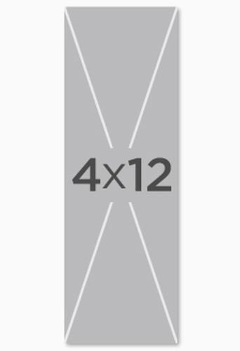 custom 4x12 fabric church banner